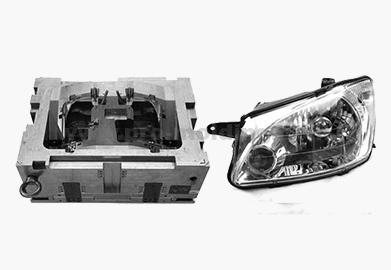 Car head lamp Mould 0010